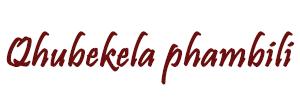 Qhubekela phambili